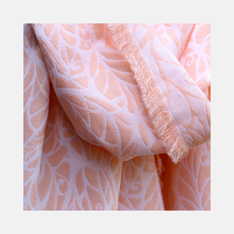 Genesis Shawl Summer Peach