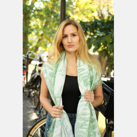 Fern Shawl Shamrock