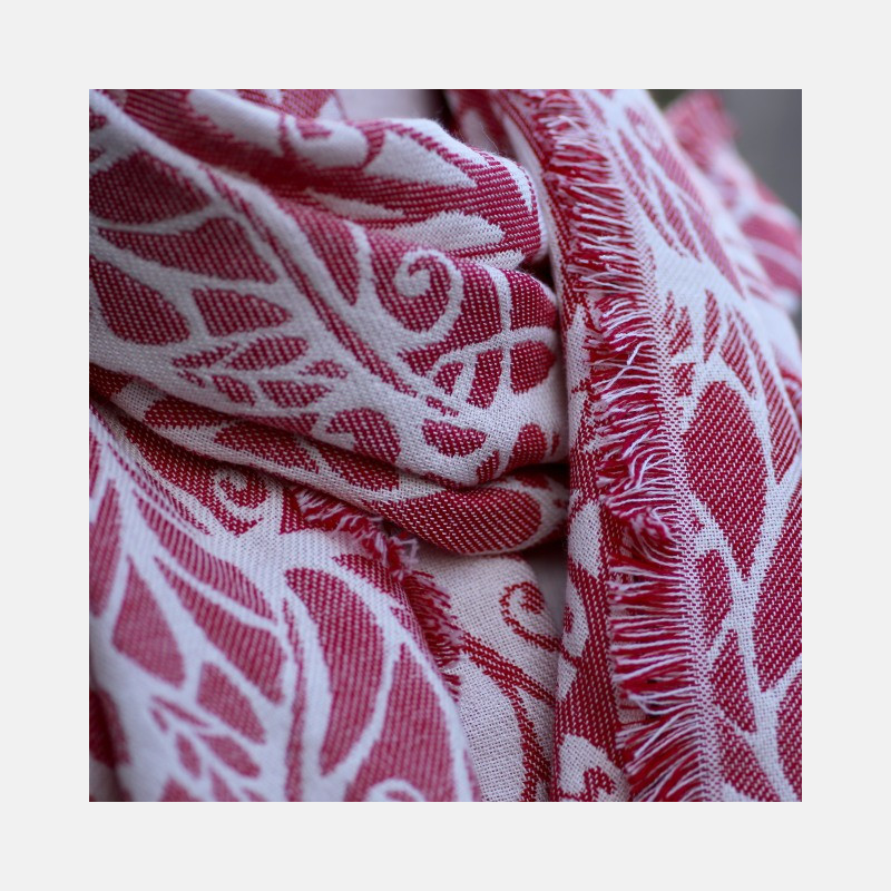 Genesis Shawl Red